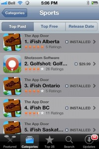 Top Paid Sports apps in Canada